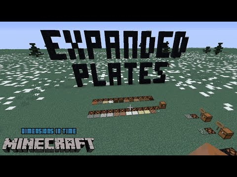 Mod Spotlight - Expanded Plates adds Pressure Plates to Minecraft