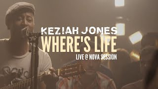Keziah Jones - Where's Life (Live @ Nova Session)