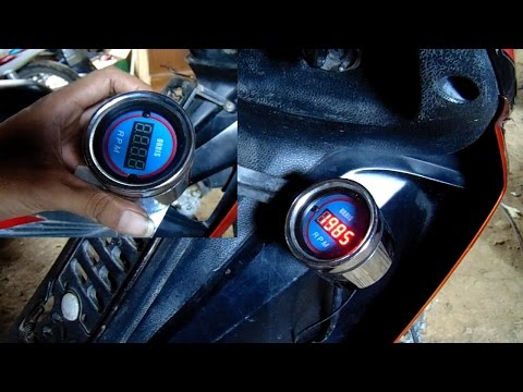 Video Cara Memasang RPM / Takometer Digital pada Kendaraan Bermotor.