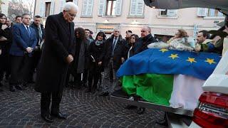 Il Presidente Mattarella partecipa alle esequie solenni di Antonio Megalizzi