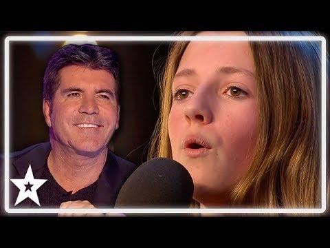 Kid Whitney Houston Gets Standing Ovation From Simon Cowell on BGT | Kids Got Talent (видео)