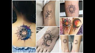 Amazing Sun And Moon Tattoo Design Ideas