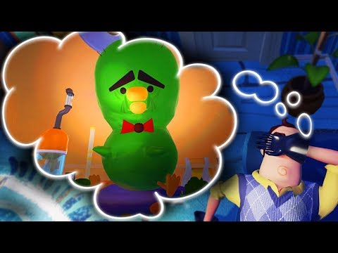 I GREW THIS BOOGER MONSTER IN HELLO NEIGHBOR'S DREAM!   Escape Your Dreams! (Sleepin' Deeply)