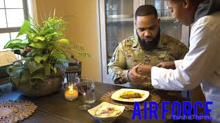 DFac Thanksgiving In Each Branch Of Military