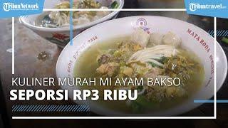 Kuliner Mi Ayam Bakso Murah Rp3.000 di Klaten, 340 Porsi Ludes Sehari