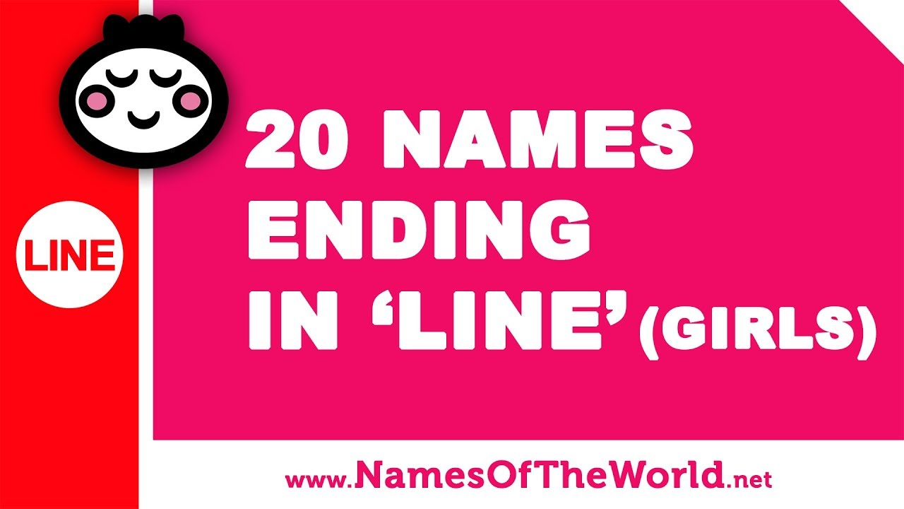 20 girl names ending in LINE - the best baby names - www.namesoftheworld.net
