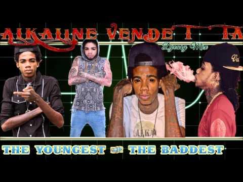 Alkaline Mixtape 2016 Unlocked  (The Youngest & The Baddest Unlocked) mix by djeasy