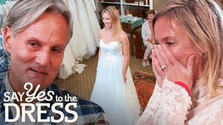 Monte & Lori Surprises Bride Who Recently Lost Her Son | Say Yes To The Dress Atlanta