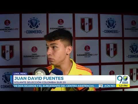 Marzo 27 2019 Seleccion Colombia Sub 17 perdio su segundo partido en suramericano ante Uruguay