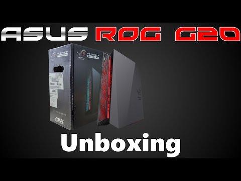 Asus ROG G20AJ | Unboxing
