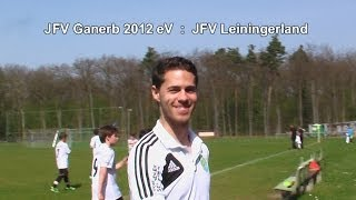 preview picture of video 'JFV Ganerb 2012 eV :  JFV Leiningerland 30.3.2014'