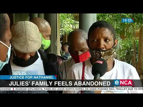 Nathaniel Julies' family feels abandoned