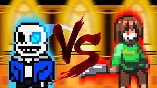 undertale fan game sans vs chara - 免费在线视频最佳电影电视节目