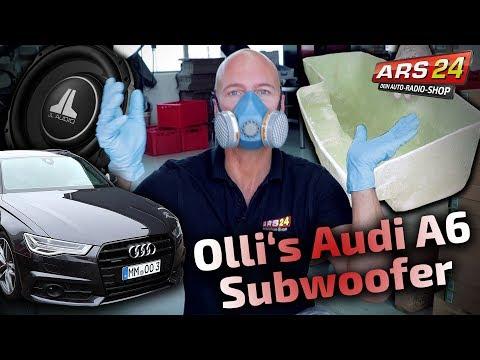 Audi A6 (4G) | super Subwoofer einbauen | Gehäuse selber bauen | PART 7