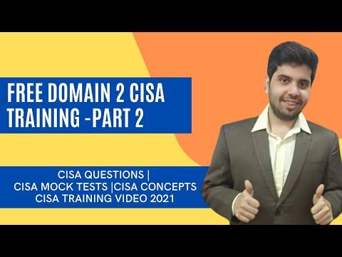 (Part 2) FREE CISA TRAINING 2021  FREE CISA STUDY GUIDE I ...