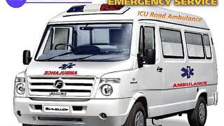 Get Medilift ICU Road Ambulance Service in Gandhi Maidan and Mahendru