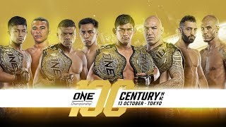 [Full Event] ONE Championship: CENTURY PART II
