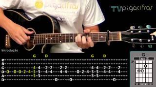 Jason Mraz - I Won't Give Up (Aula de violão) - TV Pega Cifras