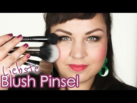 DIE BESTEN ROUGEPINSEL - meine Blush Brush Favoriten - MAKEUP PINSEL SERIE
