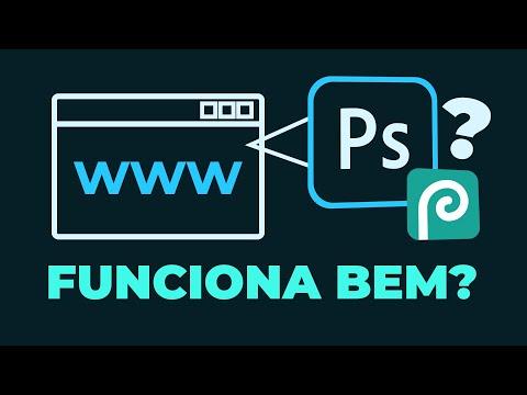 Testei o Photoshop Online de Navegador (Grátis e em Português)