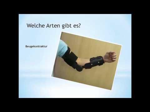 Behandlung von degenerativen Bandscheibenerkrankungen der Halswirbelsäule Gymnastik
