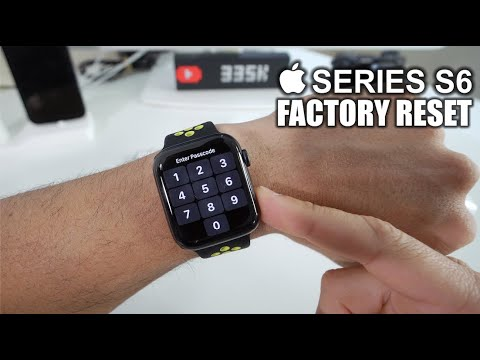 How To Hard Reset your Apple Watch Series 6 - Factory Reset