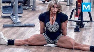 Biggest Russian Female Bodybuilder - Nataliya Kuznetsova   Muscle Madness