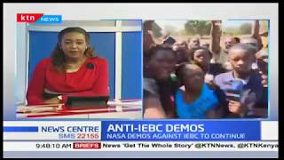 Anti-IEBC demos continue at Uhuru Park