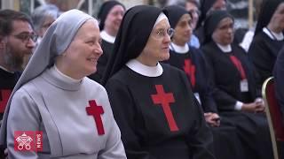 2019 03 18 Papst an Kamillianer spricht über Zärtlichkeit
