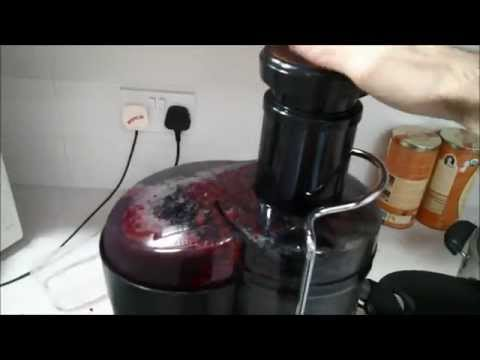 Unboxing, assembling and juicing - Severin Juicer ES 3563