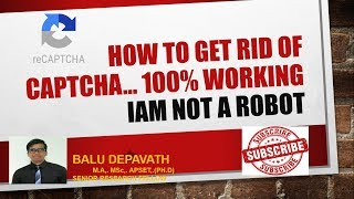HOW TO GET RID OF CAPTCHA ...100% WORKING.. REMOVE CAPTCHA
