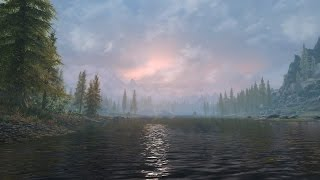 Skyrim PS4 - Beautiful Mods - Surreal Lightning, Water, Dense Grass