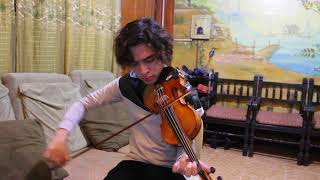 Britney Spears' Toxic On Violin   Jino Labitigan