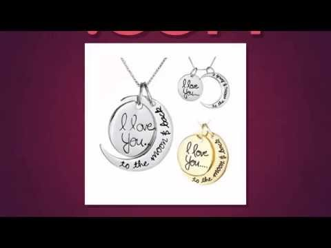 Free I Love You to the Moon And Back Necklace Offer!