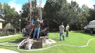 Drilling and Installation of Vertical Geothermal Loops