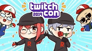 We Cosplayed as TEAM ROCKET for TwitchCon 2019