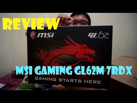 Unboxing No. 1 GAMING & EDITING LAPTOP || MSI GL62M 7RDX