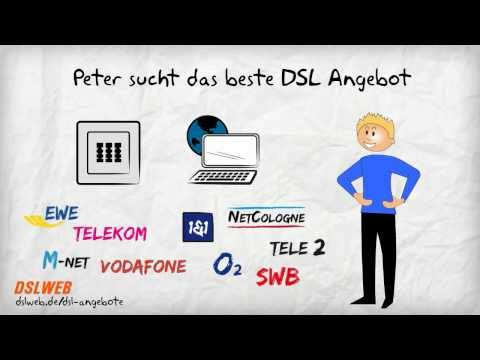 DSL Angebote - So findet man das  beste Paket