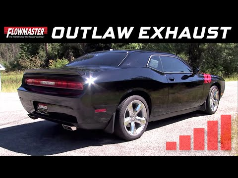 2009-14 Challenger RT 5.7L Hemi - Outlaw Axle-Back Exhaust Systems