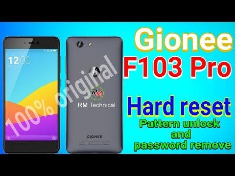 Download Hard Reset Gionee F103 Pro Remove Lock Screen Gionee F103
