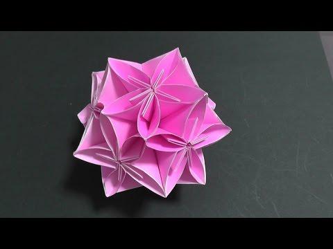 ハート 折り紙:折り紙 ダリア 折り方-matome.naver.jp