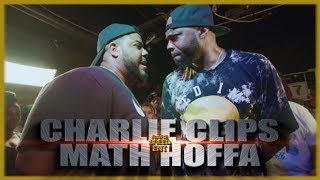 CHARLIE CLIPS VS MATH HOFFA RAP BATTLE - RBE