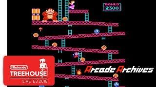 Arcade Archives Gameplay - Nintendo Treehouse: Live   E3 2018