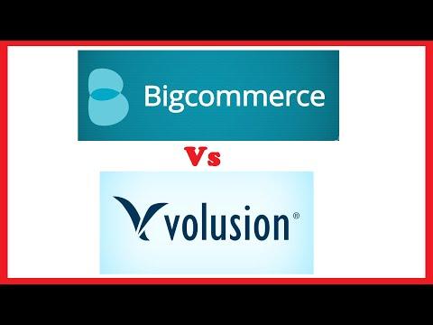 BigCommerce vs Volusion