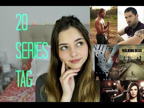20 SERIES TAG ! ¿Cuáles son mis series favoritas?