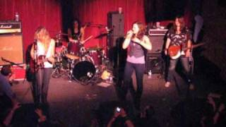 The Donnas Cover Kiss' Strutter - Live from The Note, West Chester, PA - 3/27/10