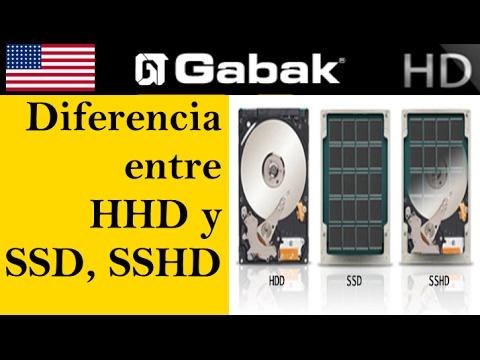 Que diferencias hay entre los discos mecánicos HDD hibridos SSHD y sólidos SSD