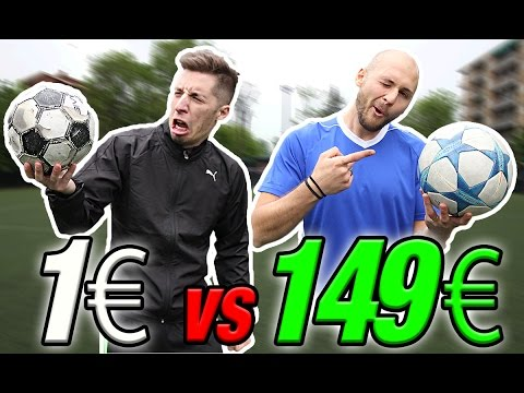 €1 FOOTBALL VS €149 CHAMPIONS LEAGUE FINAL - Il miglior PALLONE??