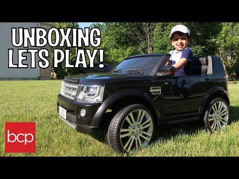THE COOLEST RIDE ON TRUCK YET! by Best Choice Products (FULL REVIEW) Land Rover 2 Seater