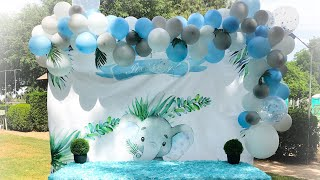 Baby Elephant Baby Shower Idea
